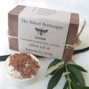 Zanzibar Coconut Vanilla Spice, Olive Oil, and Beeswax Soap