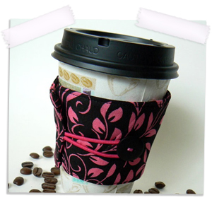Insulated coffee cozy
