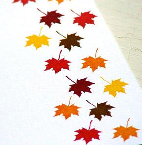 leaf stationary
