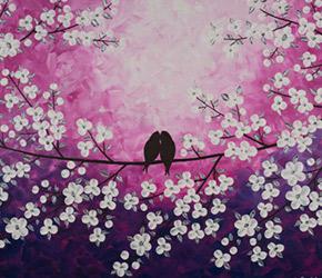 etsy love birds art