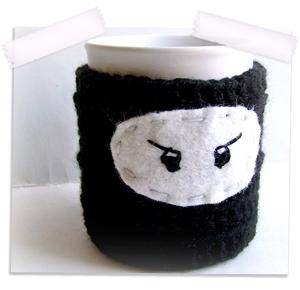 Ninja coffee cozy