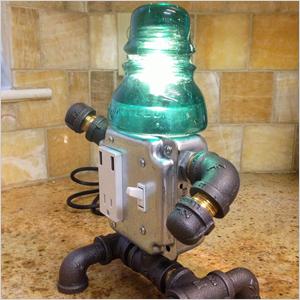 Desktop robot lamp