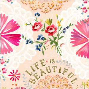 Life is Beautiful print