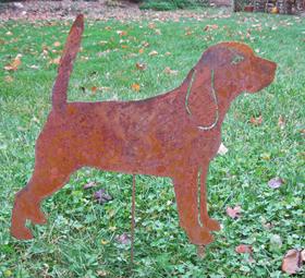 Beagle stake