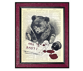 etsy bear art