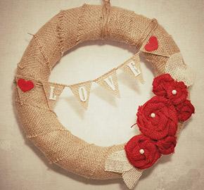 etsy valentine's day wreath