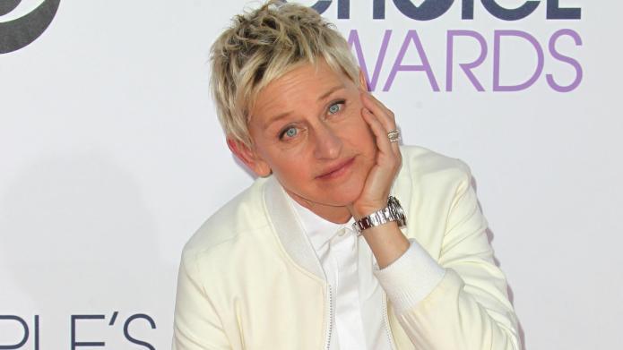 Ellen's reaction to Clooney's Golden Globes