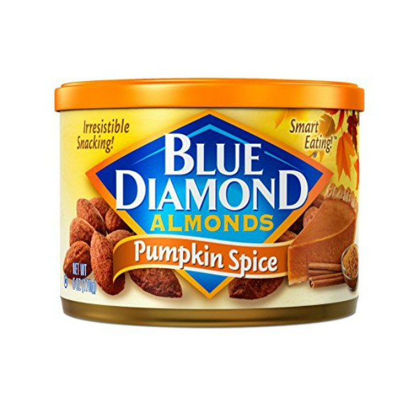 Fall Foods Amazon Will Deliver Right to Your Door: pumpkin spice almonds