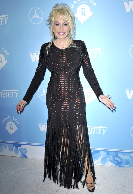 Dolly Parton Variety and Women in Film's 2017