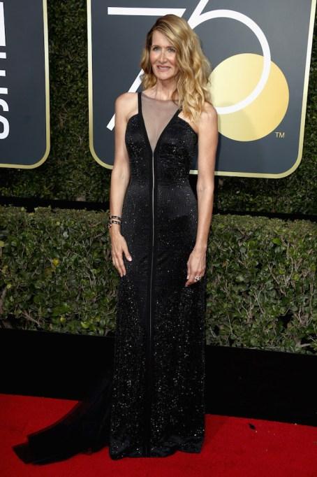 Best Golden Globes fashion 2018: Laura Dern