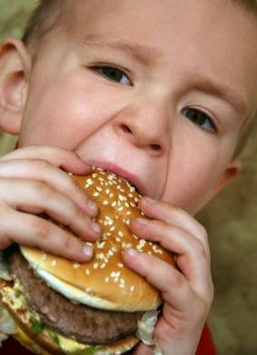 Does fast food cause asthma in