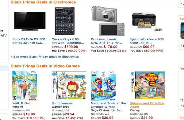 Amazon Black Friday and Cyber Monday