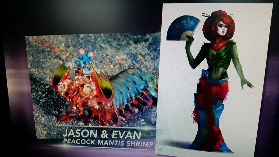 Evan and Jason: Peacock Mantis Shrimp