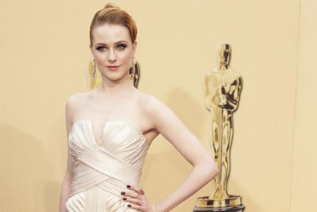 Evan Rachel Woods at the Oscars