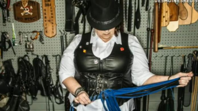 Dominatrix grandmother gives new meaning to