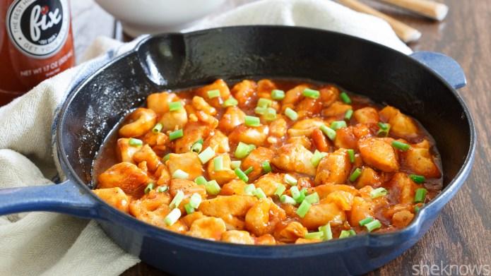 One-Pot Wonder: Honey-Sriracha chicken skillet dinner