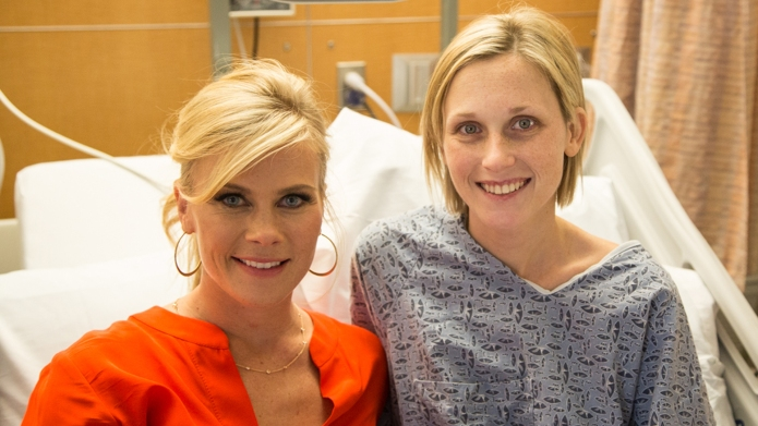 Alison Sweeney: The pediatric cancer ward