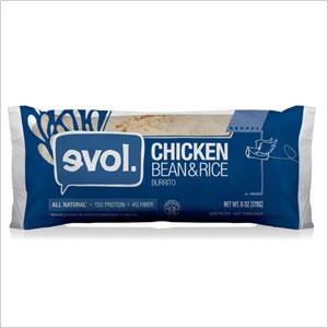 EVOL Chicken, Bean and Rice Burrito