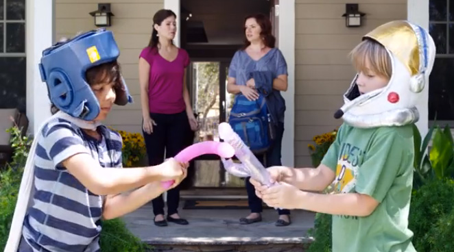 This clever video uses sex toys and kids to promote gun safety