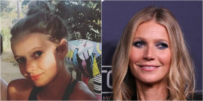 Celeb Lookalike Kids Apple Martin Gwyneth Paltrow