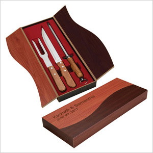 Executive Chef's carving knife set