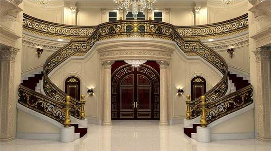 La Palais Royal staircase