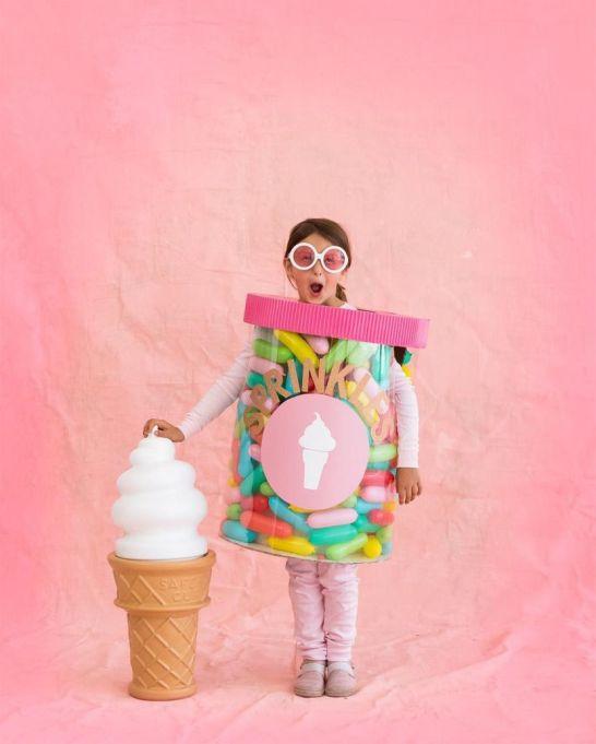 DIY Halloween Costume Ideas from Instagram: A Jar of Sprinkles | Halloween 2017