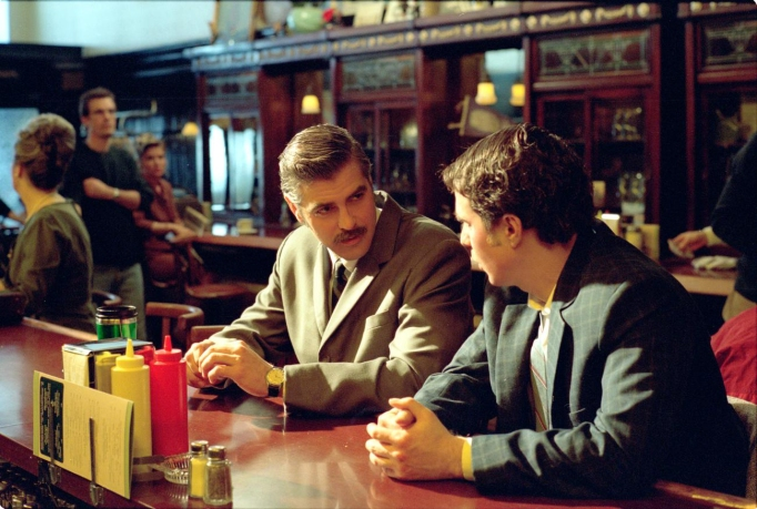 George Clooney and Sam Rockwell in 'Confessions of a Dangerous Mind'