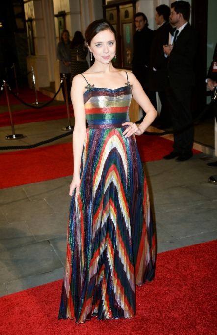 Baftas red carpet fashion 2016
