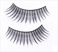 Halloween pinup girl makeup tutorial - fake eyelashes