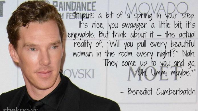 8 Times Benedict Cumberbatch has talked