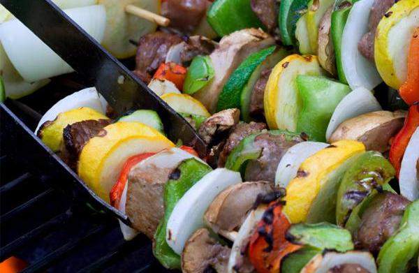 Grill up some tasty kebabs this