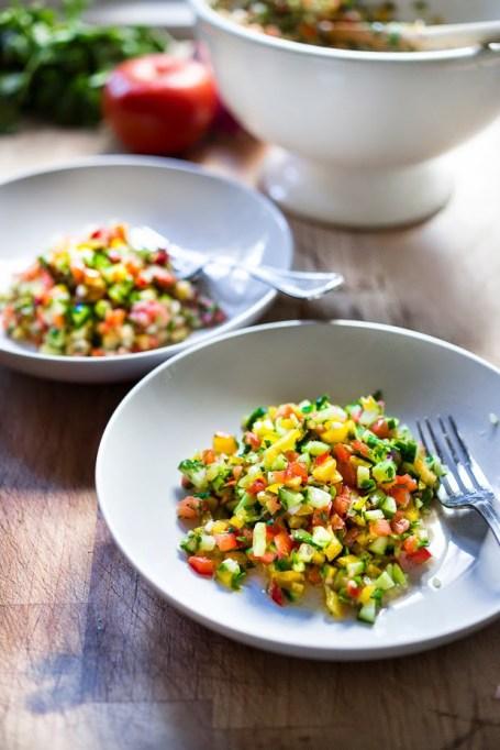 50 Easy Summer Salads: Israeli Salad | Summer Eats