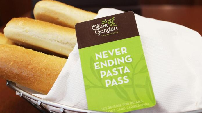 Olive Garden stands up to Pasta