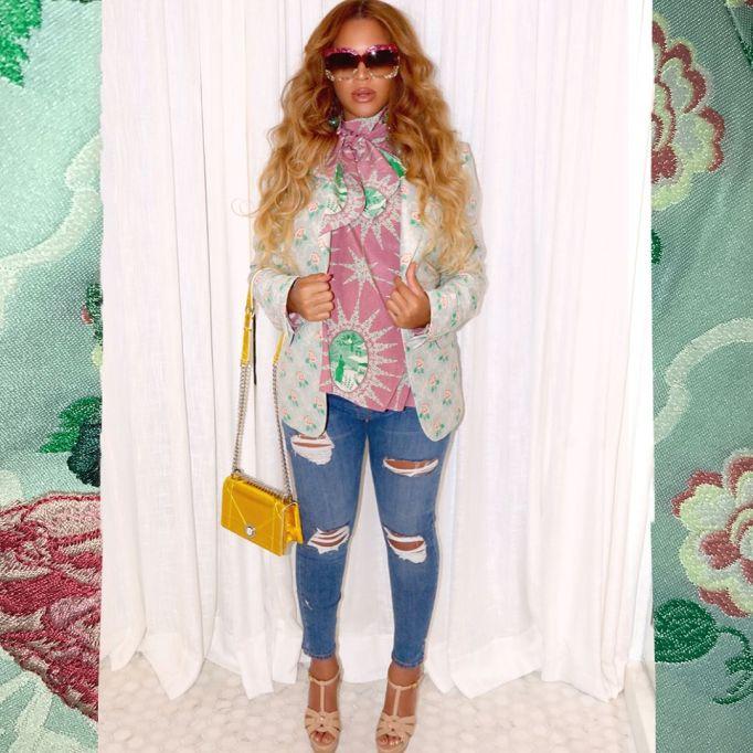 Best Pregnant Celebrity Beauty Looks Ever: Beyoncé's Long Waves | Celeb Style 2017