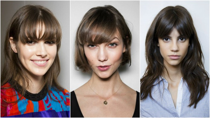 How to Style Bangs 3 Different