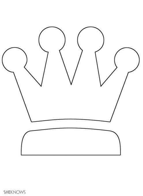 Craft template design crown