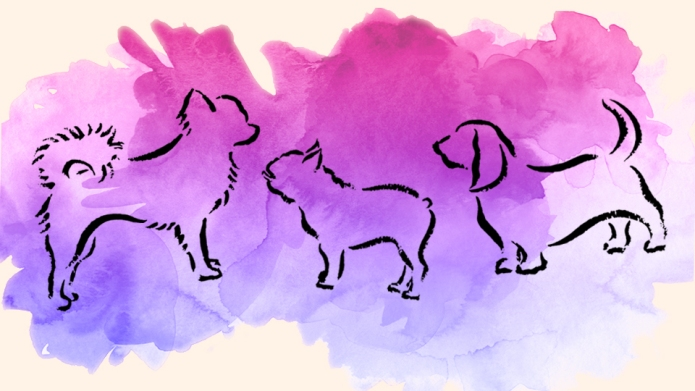 15 watercolor dog tattoos to give