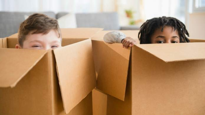 Turn a Plain Cardboard Box Into