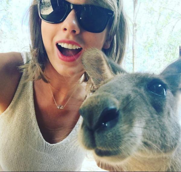 Taylor Swift social media hacked