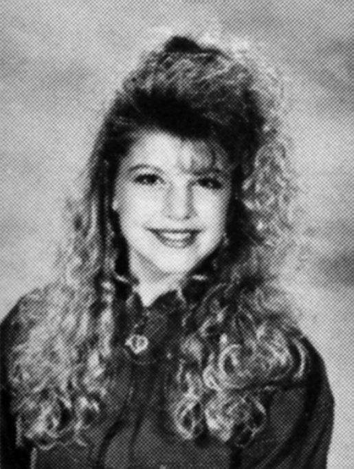 Fergie Yearbook Photo