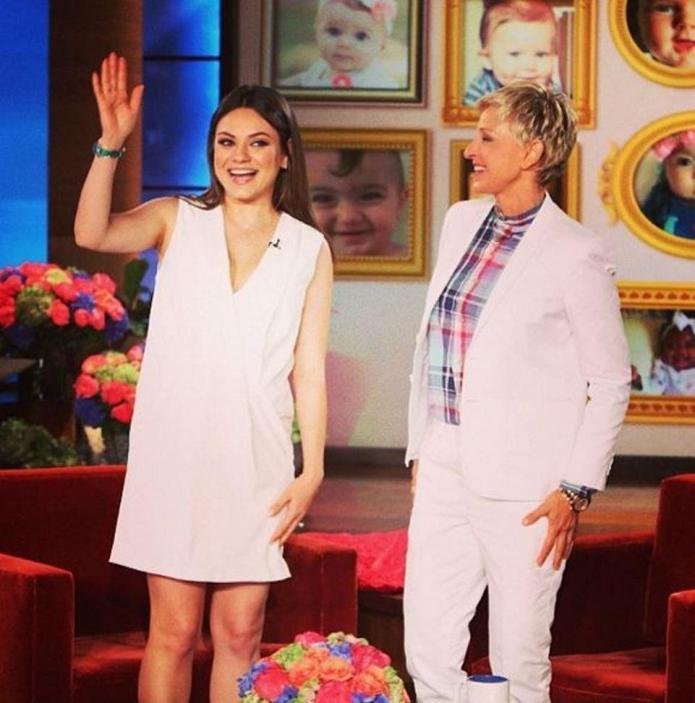 Celeb bump day: Mila Kunis, Stacy