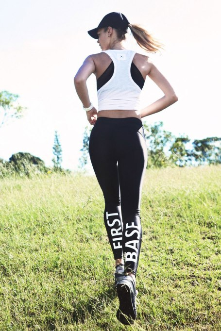 Activewear Brands You Should Definitely Know: First Base rad leggings | Summer Fitness 2017