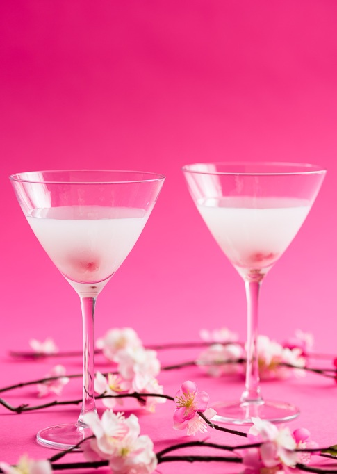 Wabi Sabi Cherry Blossom Cocktail