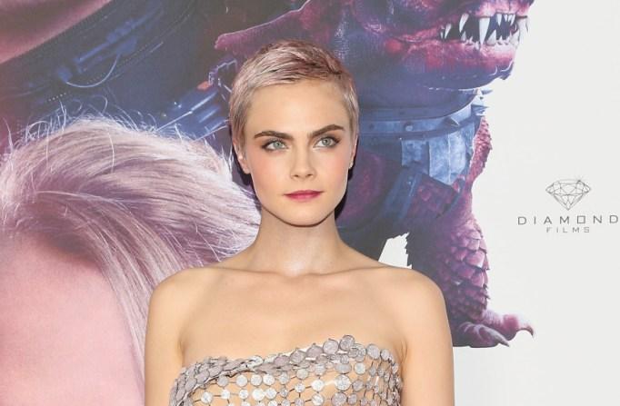 Celebrity Pixie Cuts | Cara Delevingne