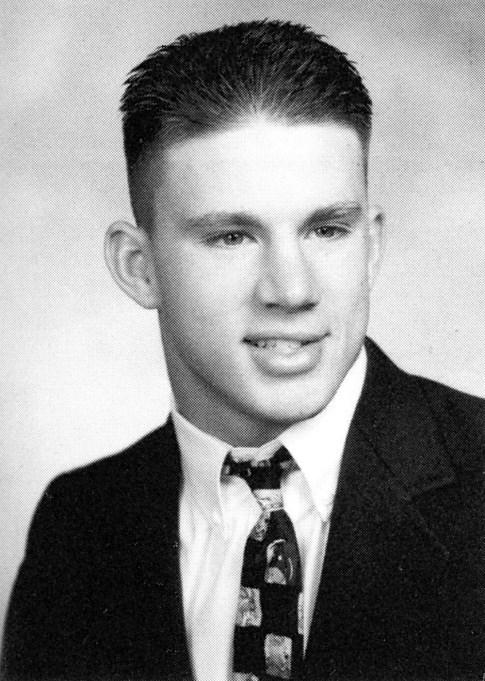 Channing Tatum Yearbook Photo