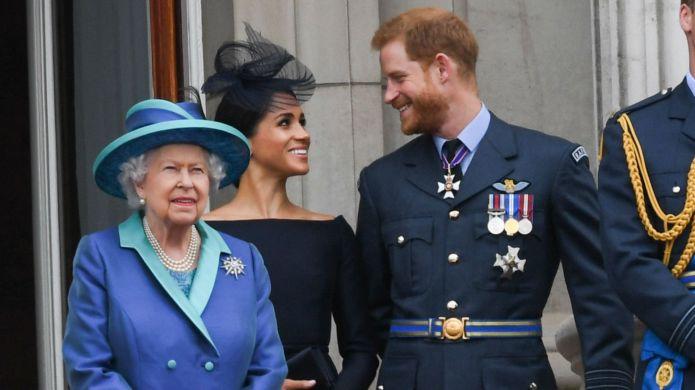 Queen Elizabeth II Meghan Markle Prince