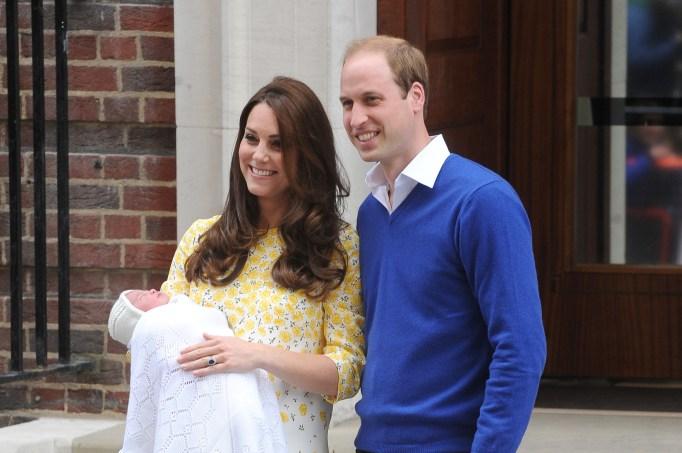 Prince William and Kate Middleton debut newborn Princess Charlotte