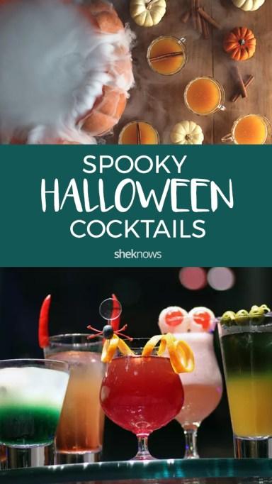 Pin it! Halloween Cocktails & Mocktails