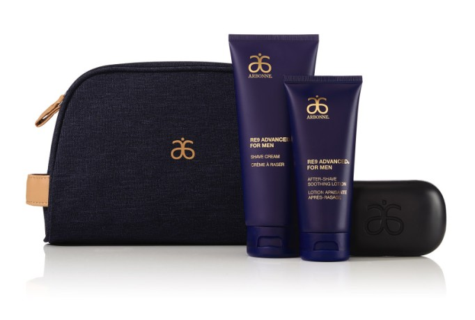 Beauty Products That Will Sell Out Fast This Holiday Season | Arbonne RE9 Men Grooming Kit